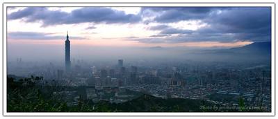 霧鎖台北終章 - 寬幅裁切版。