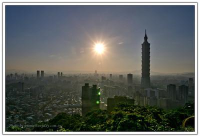 Taipei 101 之日落時分
