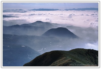 大屯山, 台北雲海