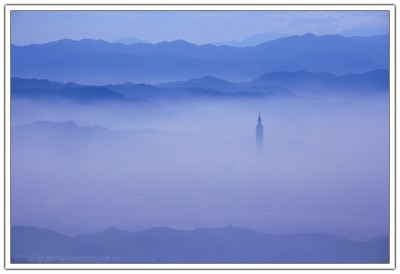 雲海, 台北城, 大屯山, Taipei 101, 101