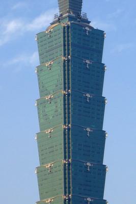 Taipei 101 母親節的燈光