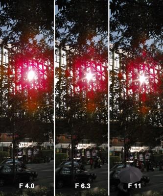 DP1 高光問題在不同光圈下的測試