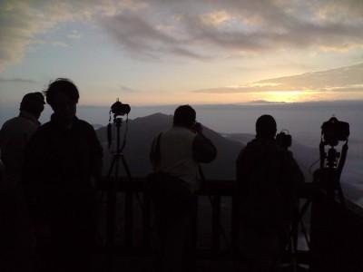 viewty, ku990 拍攝大屯山日出